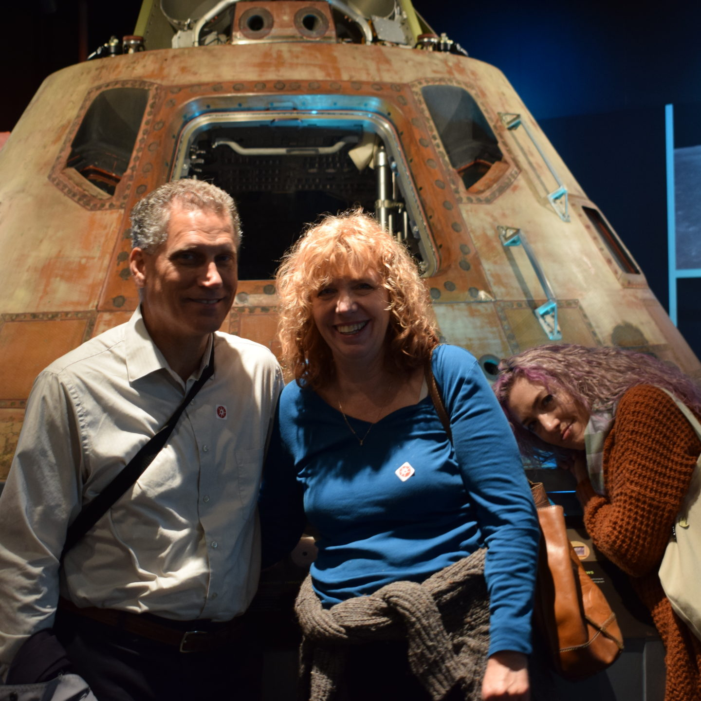 Apollo 11 Lunar Capsule at Pittsburgh's John Heinz History Center