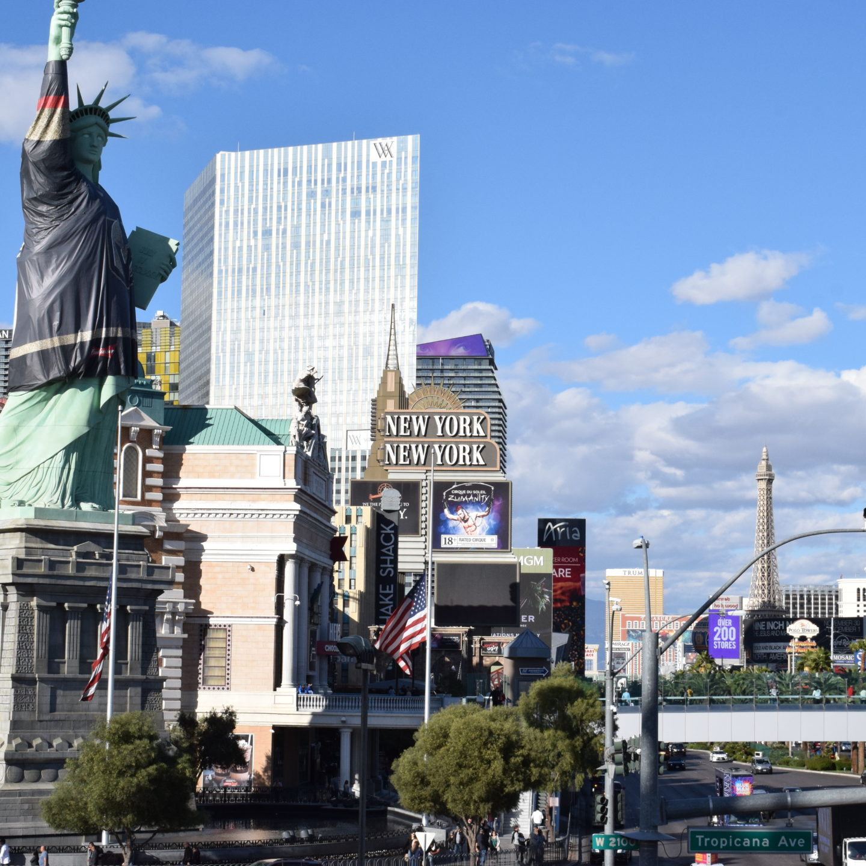 On The Las Vegas Strip with Lauren